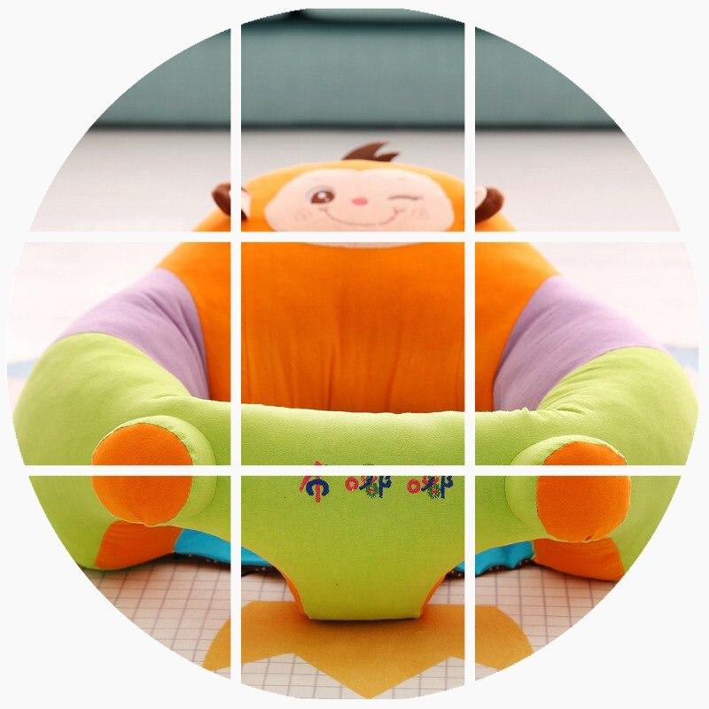 Детское безопасное сиденье от переворачивания, портативное Хипсит (пояс для ношения ребенка), детский маленький диван, мультяшное плюшевое кормление грудью, подушка учится сидеть на диване - 2
