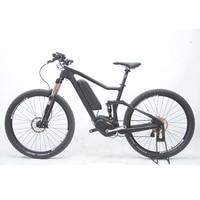 27 5inch Carbon Fiber Ebike Carbon Fiber Full Suspension Soft Tail Carbon Fiber Electric Mountain Bike