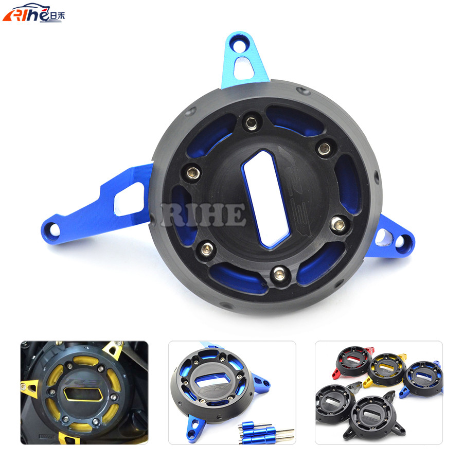 CNC Aluminum Motorcycle Accessories Stator Engine Cover Protect For Yamaha YZF-R3 R25 2015 2016 aluminum water cool flange fits 26 29cc qj zenoah rcmk cy gas engine for rc boat