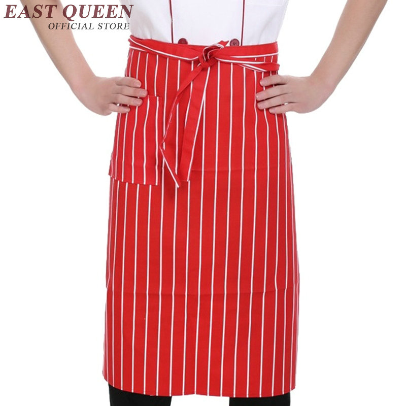 Food service apron for kitchen cooking apron short aprons ...