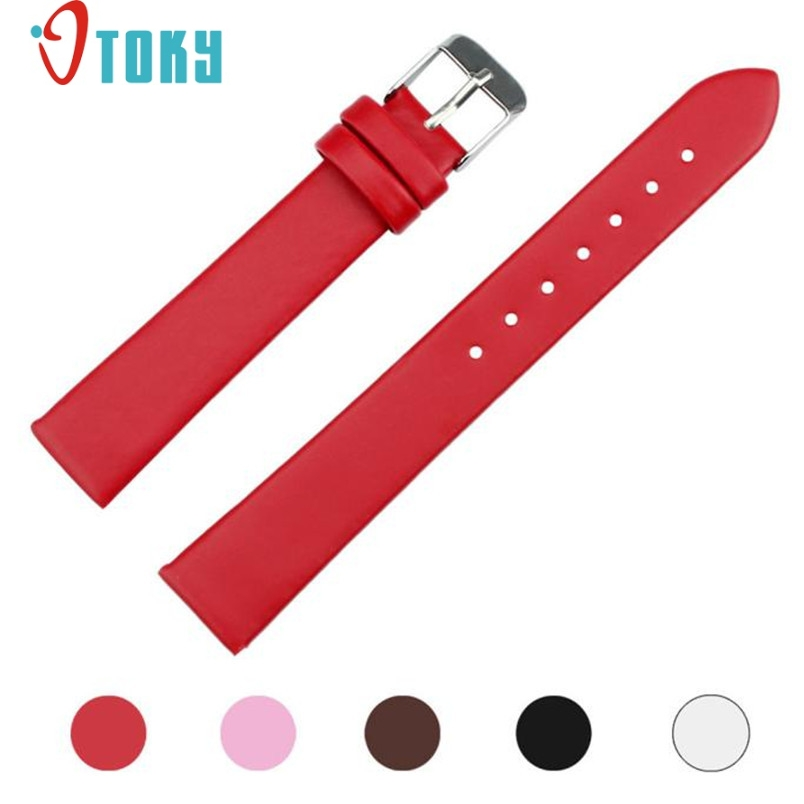 Hot hothot watch strap 16mm Width Women Fashion Leather Watches Band  jy18 Dropshipping hot hothot sales colorful boys girls students time electronic digital wrist sport watch free shipping at2 dropshipping li