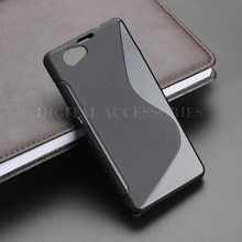 8 Color S-Line Anti Skidding Gel TPU Slim Soft Case Back Cover For Sony Xperia Z