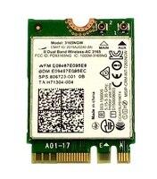 Ssea novo para intel wireless-ac 3165 3165ngw 802.11ac wifi bluetooth 4.0 ngff cartão para hp TPN-Q159 15-an008tx sps 806723-001