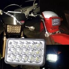 Yait светодиодный фонарь для Honda XR250 XR400 XR650 и Suzuki DRZ с 4*6 дюймов светодиодный налобный фонарь