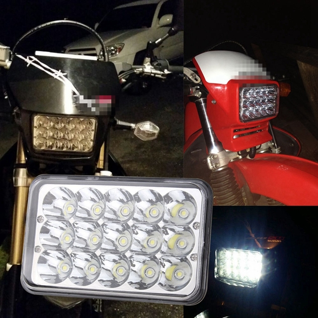 US $20 76 11% OFF|Yait LED Conversion Headlight Lamp For Honda XR250 XR400  XR650 and Suzuki DRZ With 4*6 inch led headlamp on Aliexpress com | Alibaba