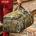 Бесплатная доставка Расширенный Камуфляж многофункциональный Багаж сумку большой емкости сумка повседневная мужская рюкзак Дорожная сумка YCW9339