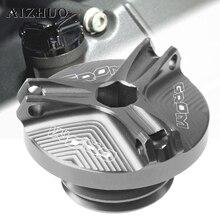 все цены на Motorcycle Engine Oil Drain Plug Sump Nut Cup Oil Filler Cap Plug Cover For HONDA GROM/MSX125 MSX 125 2014-2017 2016 2015 онлайн