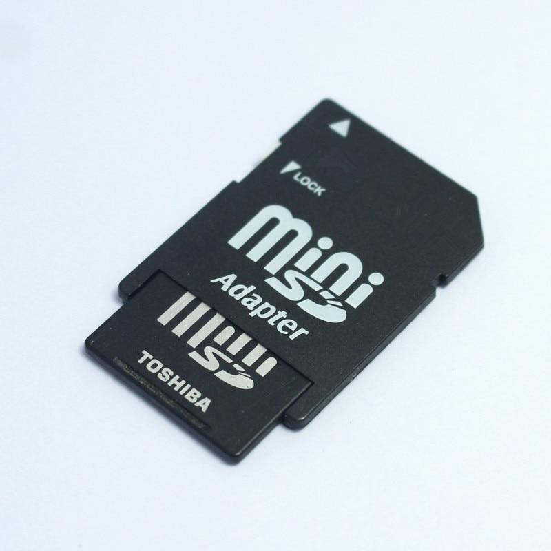High Quality!!! 1GB Mini SD Card MINISD Memory Card Phone Card With Card Adapter