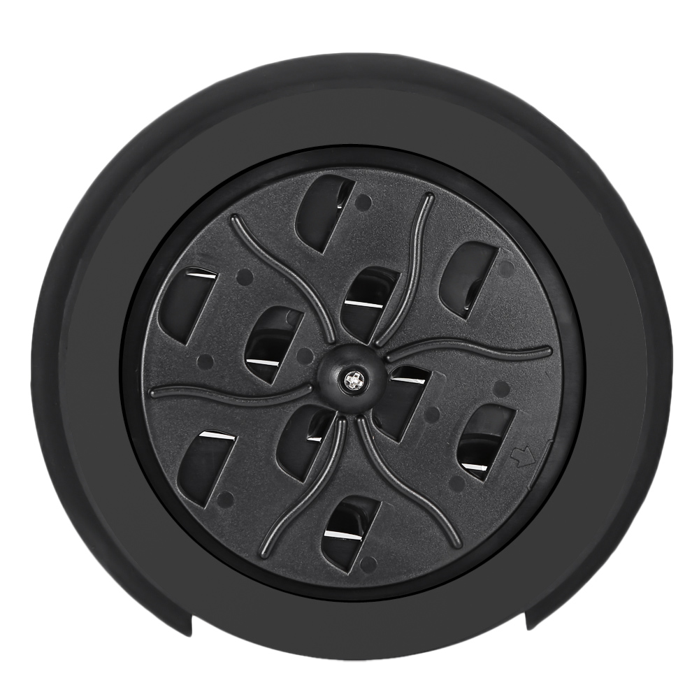 HOT-Flanger 100mm ABS Rubber Guitar Sound Cover Adjustable Acoustic Guitar Feedback Suppressor Sound Hole Cover