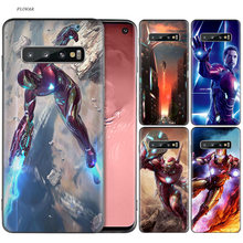 Tony Stark Marvel Iron Man Cho Samsung Galaxy A70 A50 M30 S10 Plus S10E M20 M10 A40 A30 A20 a10 A20E Bao(China)