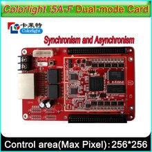 Cartão de controle colorlight i5A-F, suporte para controle síncrono e assíncrono, cartão de controle de cor cheia de exibição led