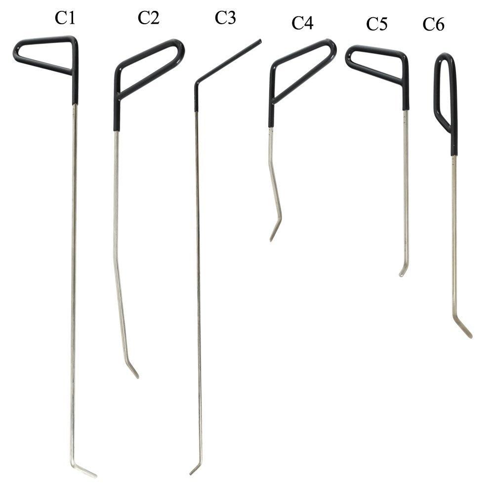 22 pièces outils de réparation de Dent sans peinture PDR Set tiges enlèvement de Dent outil de retrait de Dent PDR - 3