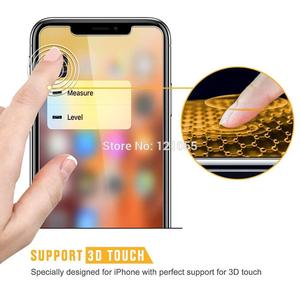 Image 5 - Full Cover Tempered Glass For iPhone XS Max XR X 8 7 8P 6 6S Plus 11 Pro Screen Protector Luxury Film Glass 10D Curved 10pcs/lot