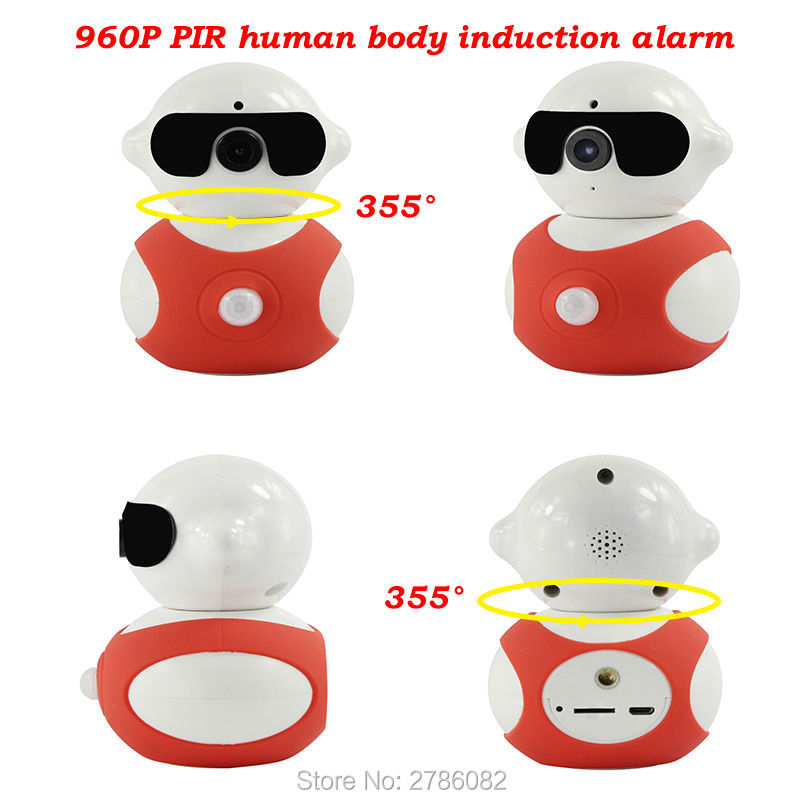Home Security HD 960P WIFI  IP P2P Network Camera Smart Mini Baby Monitor Two Way Audio Intercom Support  IOS/Android Remote