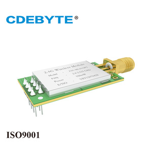 Image 4 - E01 ML01DP5 Lange Palette SPI nRF24L01P 2,4 ghz 100 mW SMA Antenne IoT Wireless Transceiver Sender Empfänger nRF24L01P RF Modul