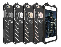 R JUST Batman Series Heavy Dust Metal Armor Anodized Aluminum Case For IPhone 7 7 Plus