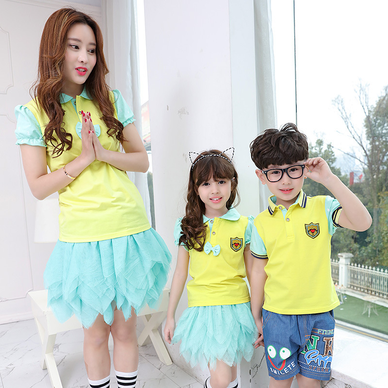 Primary And Secondary School Students 2016 New Summer Uniforms Sportswear Kindergarten Children Clothing