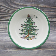 1 Pcs 8 inch Christmas Tree Bowl Tableware salad bowl Cold dish mixing bowl Dessert bowl vegetable  kitchenware Tool
