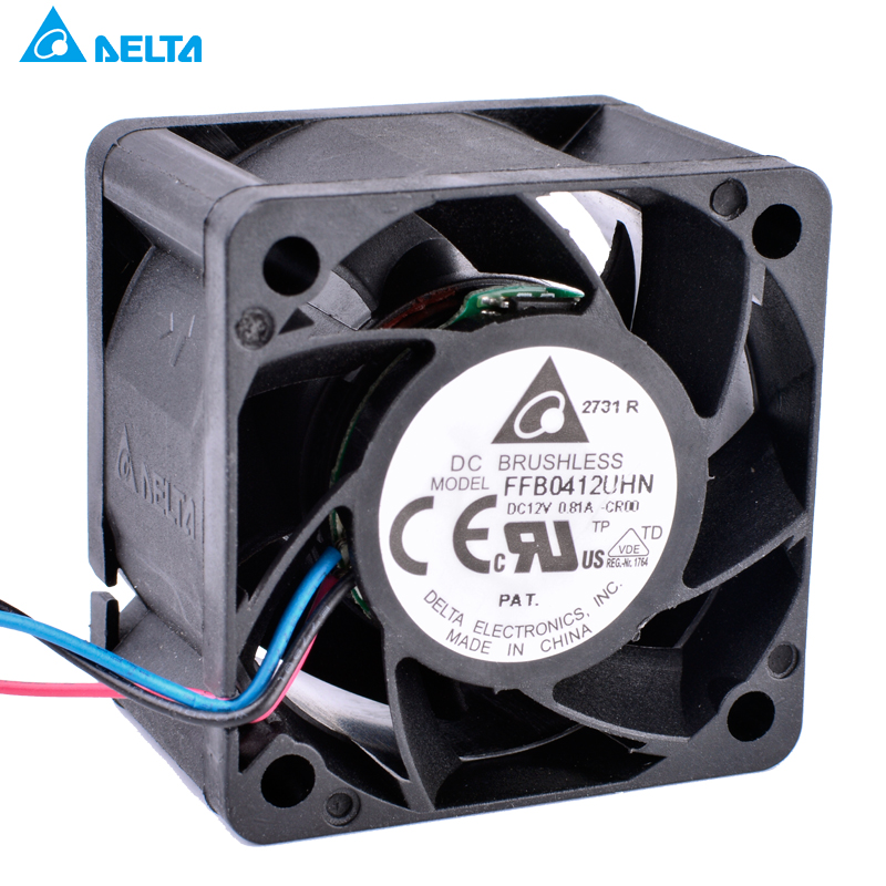 FFB0412UHN original Delta 4028 4CM server power supply cooling fan 12V 0.81A