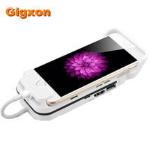 Gigxon – I60 Proyector Aiptek Mini Projector DLP For Iphone6 HDMI Projector Full HD 1080P TV Smartphone Portable Pico Pocket