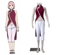 NARUTO Sakura Haruno Cosplay Costume Halloween Costumes