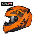 New Arrival LS2 FF352 Motorcycle Helmet Fashion Design Full Face Racing Helmets ECE DOT Approved Capacete Casco Moto