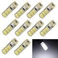 10 Pçs/lote T10 194 W5W COB 2835 SMD 12LED Car CANBUS Erro livre Licença Lâmpada 2 W Festoon Dome Lamp Atacado Frete Grátis