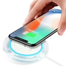 Wireless Charger For iPhone X 8 8 Plus Phone Accessory Portable Charging Pad Dock Case For Apple iPhoneX 8Plus 3 Ports Charger