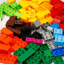 Купить с кэшбэком BanBao Big Size Bulk DIY Blocks Creative Intelligence Educational Building Bricks Toys Kids Children Compatible With Lego 0.8kg