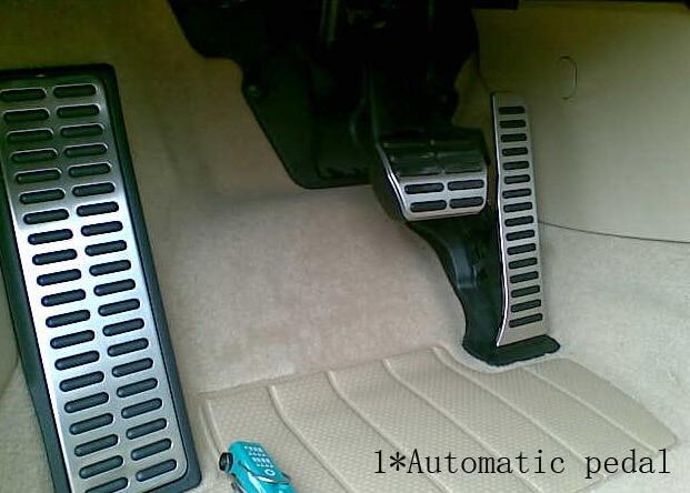 Stainless Steel car pedal for AT MT Volkswagen vw Golf  6 Passat TIGUAN Magotan Sagitar  CC car luggage trunk abs hook for volkswagen cc new magotan octavia new sagitar black