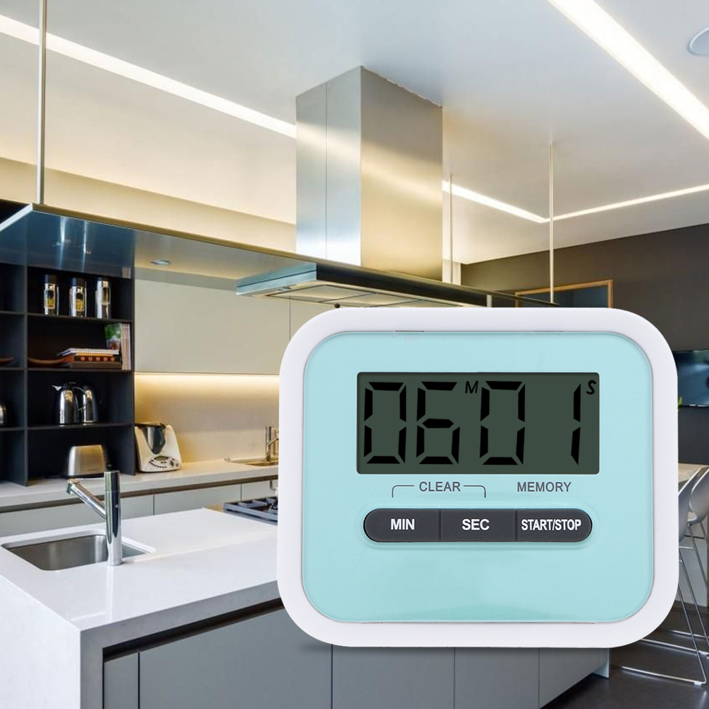 2017 NEW Large LCD Digital Kitchen Timer with loud Alarm Count Up& ...