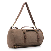 Vintage canvas men travel bags women weekend carry on luggage & bags  leisure duffle bag large capacity tote bolso LI-1180