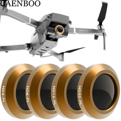 CAENBOO Drone Filter For DJI Mavic 2 Zoom Neutral Density ND4PL+8+16+NDPL32 Polar Optical Glass Multi-Layer Coating Film Gimbal