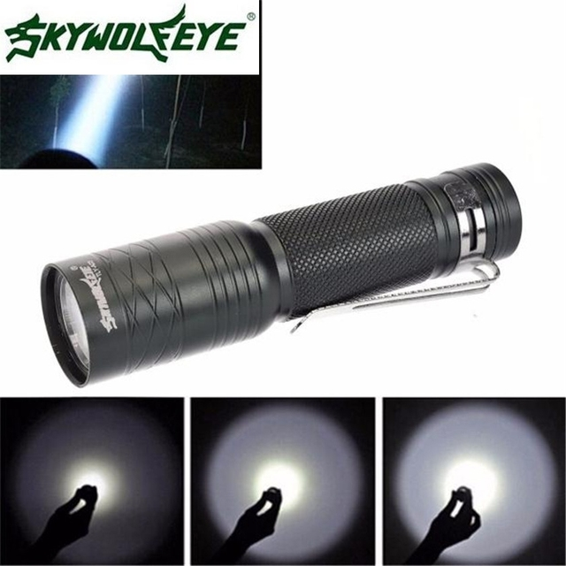 Super CREE T6 3000 Lumens 3 Modes Tactical Bright Flashlight Torch Powerful  Lamp 14500
