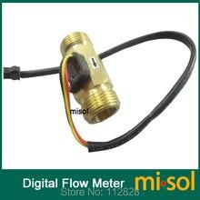 "MISOL 3/"" DN20 Электронный расходомер, 2-45 L/M электронного Senor, переключатель счетчика"