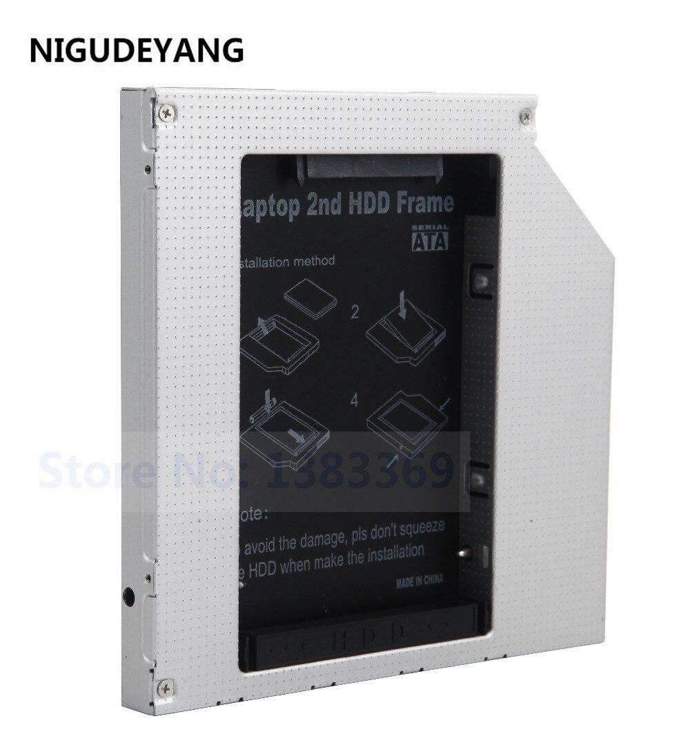 Caddy Dell Hard-Drive SSD Ide Hdd NIGUDEYANG for Inspiron B120/B130/Crx835e Optical-Bay