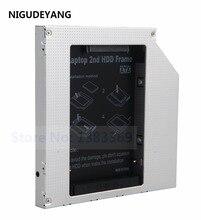 NIGUDEYANG 2nd PATA IDE жесткий диск SSD жесткий диск Оптический Защитный Контейнер для устройств считывания и записи информации для Dell Inspiron B120 B130 CRX835E