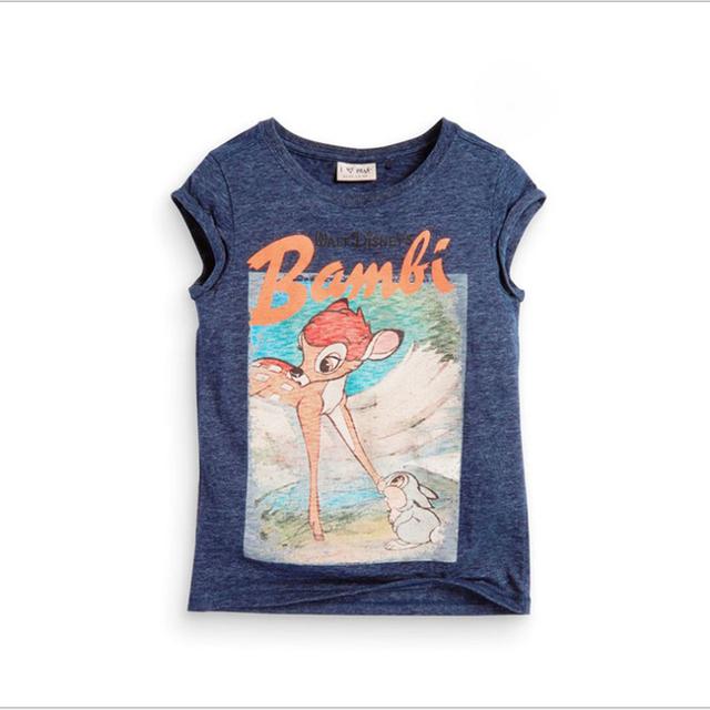 2016 novas crianças de verão meninos t-shirt girafa impresso dos desenhos animados crianças Outfits de algodão de manga curta menino Top infantil t-shirt