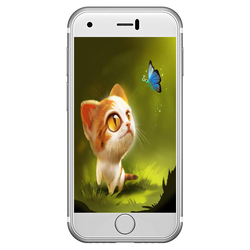 Soyes 7 s 2 г Супер Мини смартфон Android 6,0 2,54 дюймов MTK6580 4 ядра 1,3 ГГц 1 ГБ Оперативная память 8 ГБ Встроенная память двойной камеры оригинальный теле...