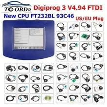 Digiprog-programador de kilometraje, odómetro de corrección, Digiprog-3, V4.94, Digiprog III, V4.94
