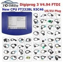 Najnowsze Digiprog 3 V4.94 Digiprog III Digiprog3 korekta licznika pełny zestaw Digiprog 3 DigiprogIII V4.94 programator przebiegu