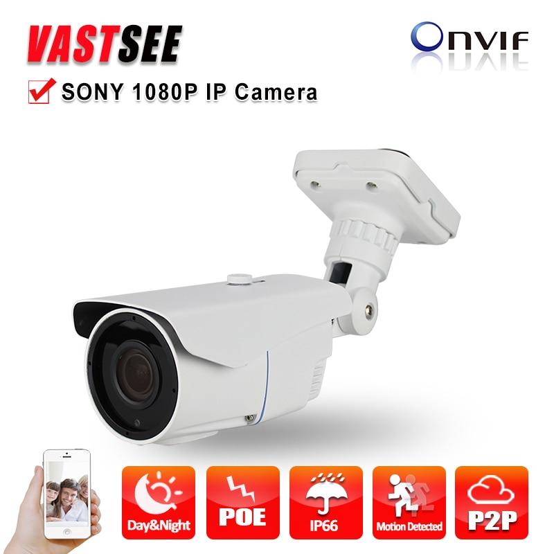 Camera ip onvif 2MP 1080P 1920*1080 SONY IMX322 outdoor waterproof ip66 Night Vision 2.8-12MM 3MP HD Lens cameras de seguranca