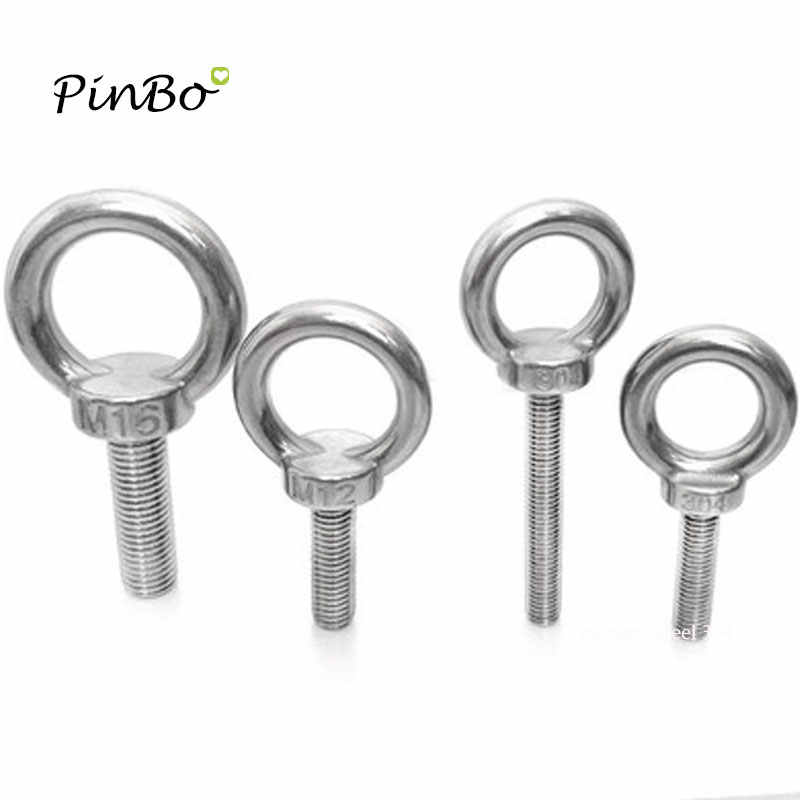 Lifting Eye Nuts A2 Stainless Female Eye Bolts M3 4 5 6 8 10 12 14 16 18 20 24