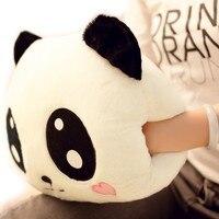 Cartoon Panda Plush Hand Warmer Warm Handbags Not Charging Double Intervene Pillow Shou Wu Birthday Gifts