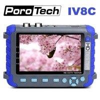 プロフェッショナル Cctv セキュリティテストツール IV8C 5 インチ TFT 液晶 5MP AHD TVI 4MP CVI CVBS CCTV カメラテスターモニターサポート PTZ UTP