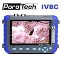 Professionele Cctv Testing Tool IV8C 5 Inch TFT LCD 5MP AHD TVI 4MP CVI CVBS CCTV Camera Tester Monitor ondersteuning PTZ UTP