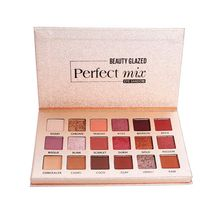 Beauty Glazed Matte Eye Makeup Nudes Palette Glitter Eye Shadow Pigmented Palette Shimmer Makeup Pallete Professional Maquiagem maybelline shadow palette blush nudes