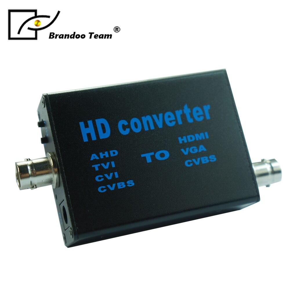 HD AHD To HDMI/VGA/CVBS Converter Adapter,from Brandoo.free Shipping