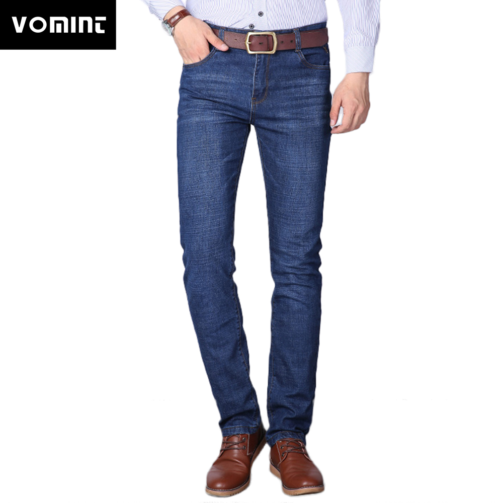 2019 Brand New Men's   Jeans   Casual Business   Jeans   Regular Straight Fit Stretch Fabric   Jeans   Elasticity Denim Trousers Male