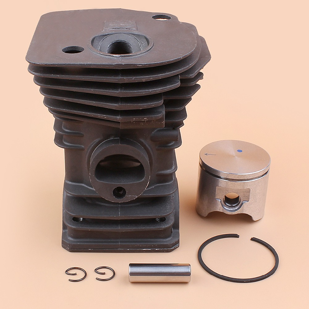 42mm Cylinder Piston Kit For Husqvarna 340 345 Chainsaw Engine Motor Parts (High Type) все цены